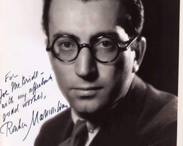 Portrait of Rouben Mamoulian