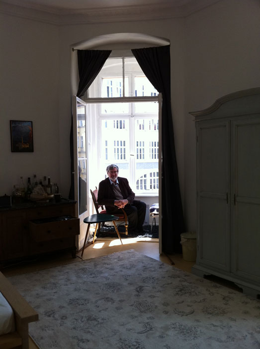 In Ernst Lubitsch's family apartments, Berlin, Germany, 2014 (Eszter  Tompa)